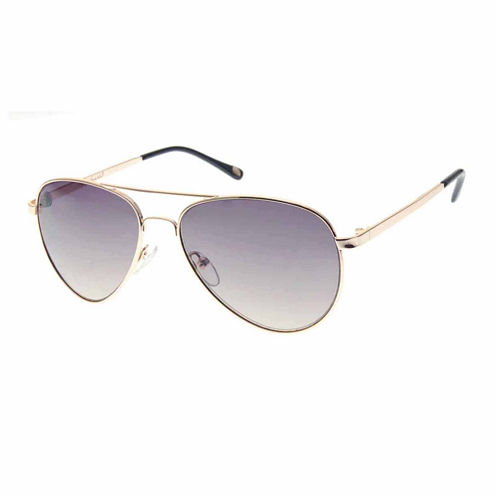 Nicole By Nicole Miller Aviator Aviator UV Protection Sunglasses