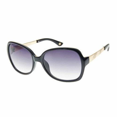 Nicole By Nicole Miller Square Square UV Protection Sunglasses