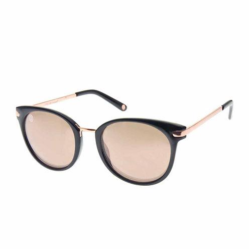 Nicole By Nicole Miller Round Round UV Protection Sunglasses