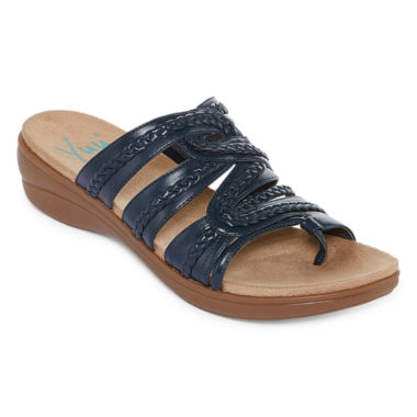 jcpenney.com | Yuu Dansa Womens Slide Sandals