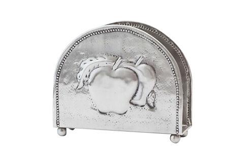 Old Dutch Antique Embossed Apple Napkin Holder