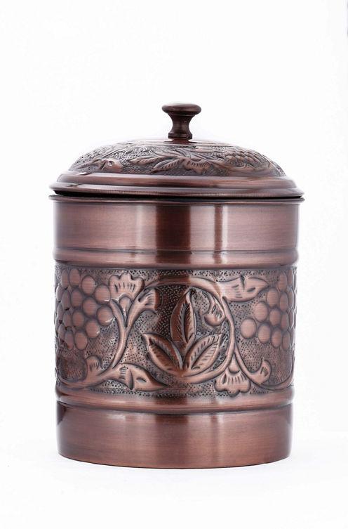 Old Dutch Antique Embossed Heritage Cookie Jar 4 Qt