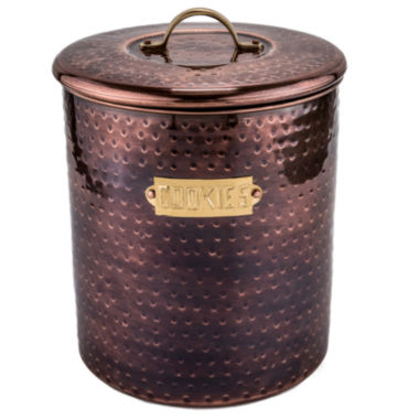 jcpenney.com | Old Dutch Hammered Antique Copper Cookie Jar withFresh Seal Lids 4 Qt