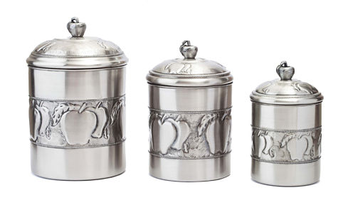 Old Dutch 3pc. Canister Set