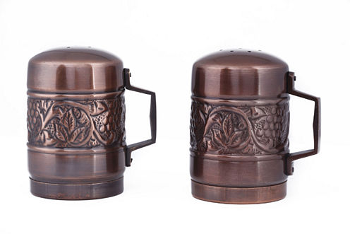 Old Dutch Antique Embossed Heritage Stovetop Saltand Pepper Set