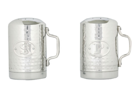 jcpenney.com | Old Dutch Stainless Steel Hammered Stovetop Salt and Pepper Set