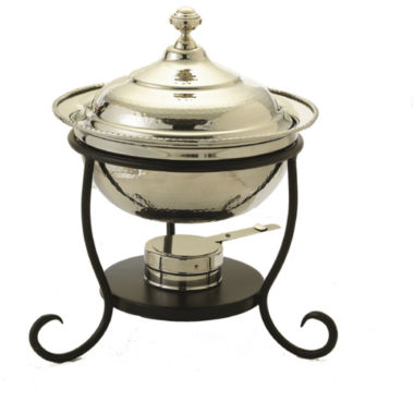 jcpenney.com | Old Dutch 3 Qt. Round Polished Nickel Chafing Dish