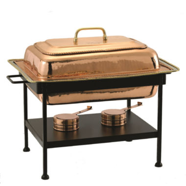 jcpenney.com | Old Dutch Rectangular Décor Copper over StainlessSteel Chafing Dish 8 Qt