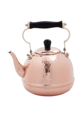 jcpenney.com | Old Dutch Hammered Solid Copper Tea Kettle with Wood Handle 2 Qt