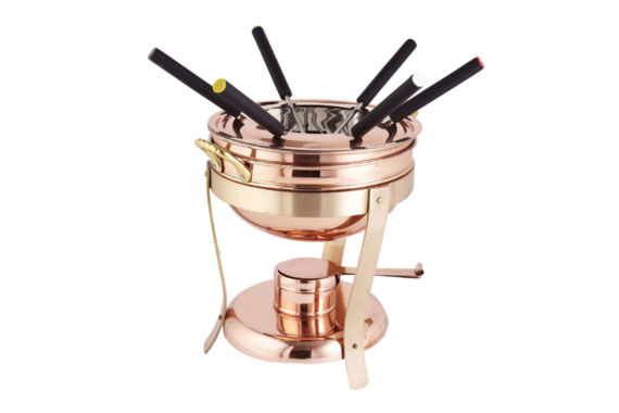 jcpenney.com | Old Dutch Décor Copper and Brass Fondue Set with6 Forks 2.75 Qt