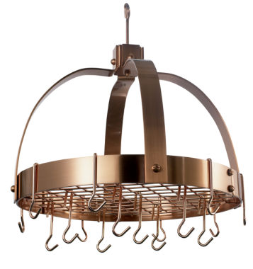 jcpenney.com | Old Dutch Satin Copper Dome Hanging Pot Rack withGrid and 16 Hooks