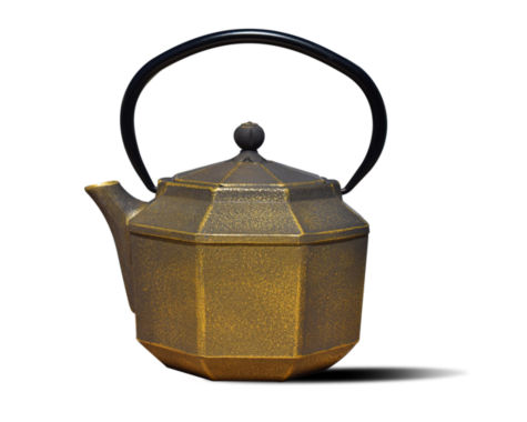 jcpenney.com | Old Dutch 30 Oz Black and Gold Cast Iron Pagoda Teapot