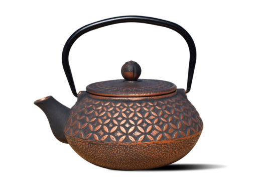 jcpenney.com | Old Dutch 23 Oz Black and Copper Cast Iron Amai Teapot