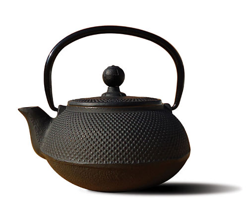 Old Dutch 20 Oz Matte Black Cast Iron Sapporo Teapot