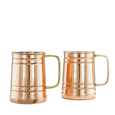 jcpenney.com | Old Dutch 1 Pt Solid Copper Beer Stein Set of 2