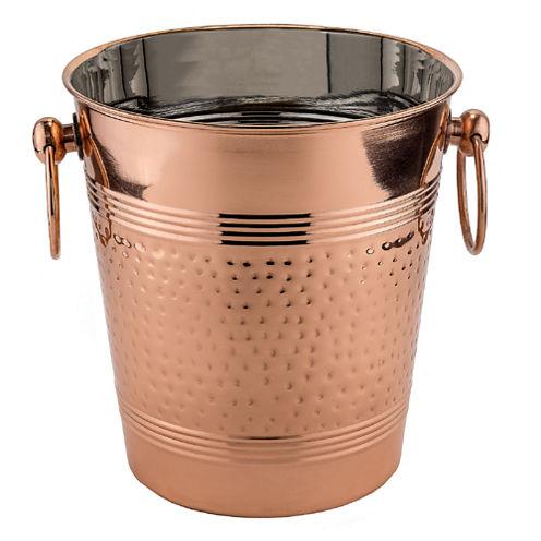 Old Dutch Fez Décor Copper Hammered Wine Cooler