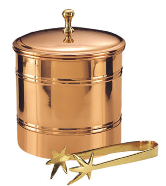 jcpenney.com | Old Dutch Décor Copper Ice Bucket with Brass Tongs 3 Qt