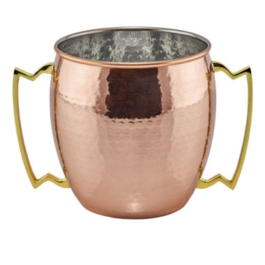 jcpenney.com | Old Dutch 2 Handled Jumbo 128 Oz Mug Hammered Solid Copper