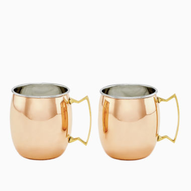 jcpenney.com | Old Dutch Two Ply Solid Copper and Stainless Steel16 Oz Moscow Mule Mugs Set of 2