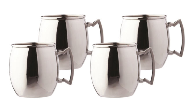 jcpenney.com | Old Dutch 16 Oz Steelii Stainless Steel Moscow Mule Mugs Set of 4