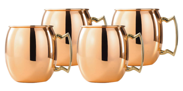 jcpenney.com | Old Dutch 24 Oz Solid Copper Moscow Mule Mugs Set of 4