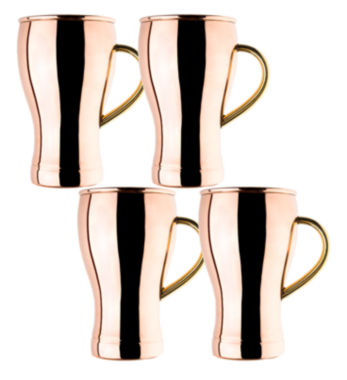 jcpenney.com | Old Dutch 14 Oz Solid Copper Soda Fountain Style Moscow Mule Mugs Set of 4