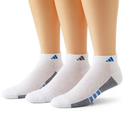 adidas® 3-pk. Superlite Low-Cut Socks