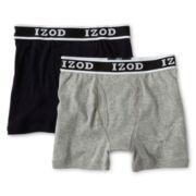 IZOD® 2-pk. Boxer Briefs - Boys 8-20