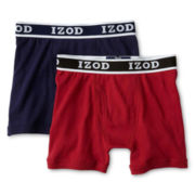 IZOD® 2-pk. Boxer Briefs - Boys 8-20