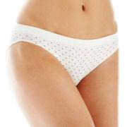 Ambrielle® Seamless Bikini Panties