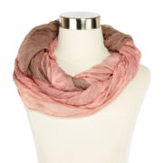 Foliage Lines Infinity Scarf