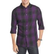 Van Heusen® Long-Sleeve Plaid Shirt