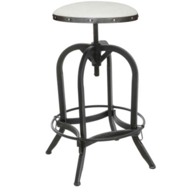 jcpenney.com | Tanner Adjustable Antiqued Iron Barstool