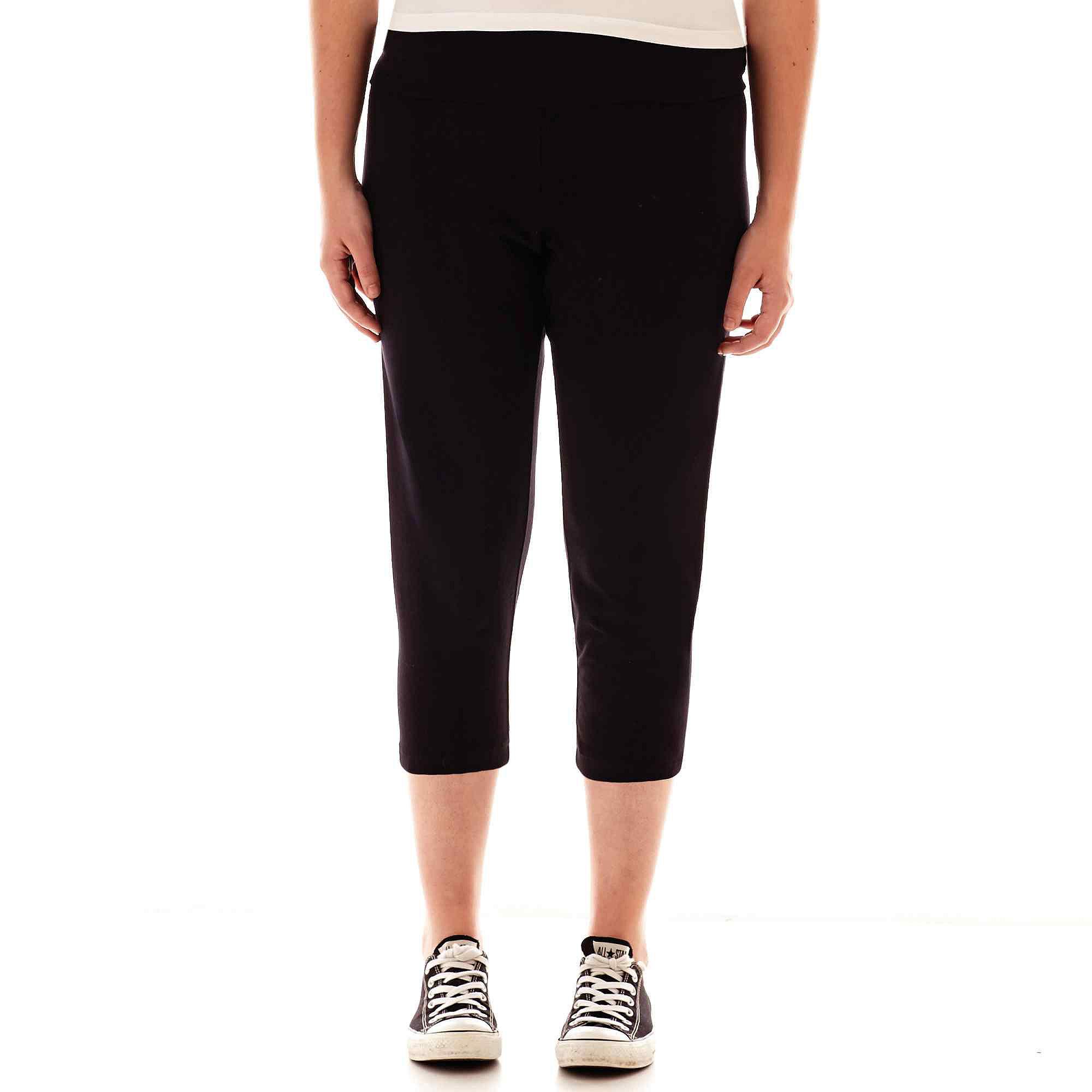 City Streets Cropped Yoga Pants - Juniors Plus plus size,  plus size fashion plus size appare