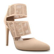 Qupid Virtue Cut-Out Pumps