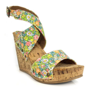 jcpenney.com | Groove Ariana Wedge Sandals