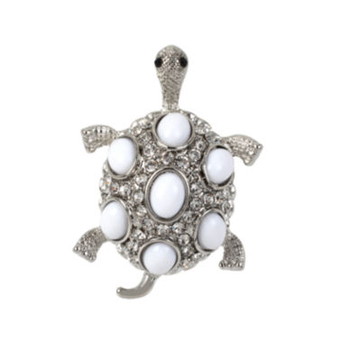 jcpenney.com | Bleu™ White Turtle Stretch Ring