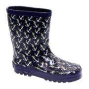 Joseph Allen Anchors Away Boys Rain Boots - Little Kids