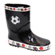 Joseph Allen Boys Sports Rain Boots - Little Kids/Big Kids
