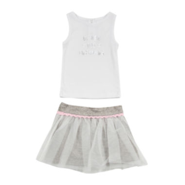 jcpenney.com | Amy Coe Dreamer Tank Top and Tulle Skirt Set - Baby Girls 3m-24m
