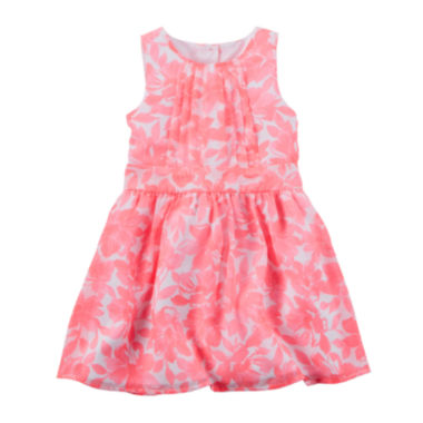 jcpenney.com | Carter's® Floral Print Crepe Dress - Toddler Girls 2t-5t