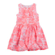 Carter's® Floral Print Crepe Dress - Preschool Girls 4-6x