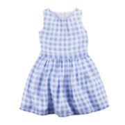 Carter's® Gingham Dress - Preschool Girls 4-6x