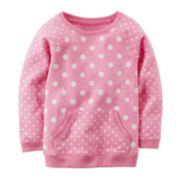 Carter's® Polka Dot French Terry Tunic - Preschool Girl 4-6x