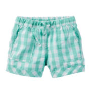 Carter's® Pull-On Shorts - Preschool Girls 4-6x