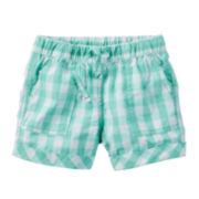 Carter's® Pull-On Shorts - Preschool Girls 4-6x
