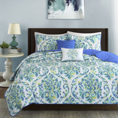 jcpenney.com | Intelligent Design Dina Coverlet Set