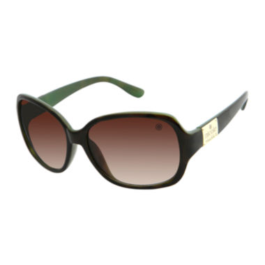 jcpenney.com | nicole by Nicole Miller® Lively Square Sunglasses