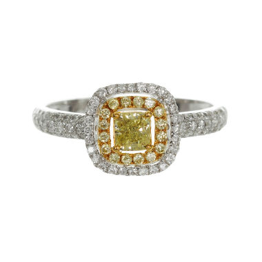 jcpenney.com | Womens 3/4 CT. T.W. Oval Yellow Diamond 14K Gold Engagement Ring