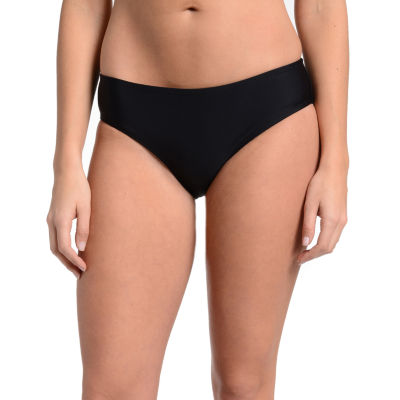 Fleetstreet Collection Solid Bikini Swimsuit Bottom